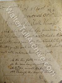 Daniel Tull's Journal