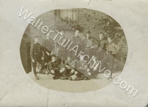 Photograph of Children's Home football team