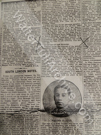 Newspaper report – Football Star, 20th March 1909