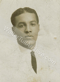 Small photograph of young Walter Tull