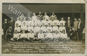 Photograph of Spurs Team 1910-11